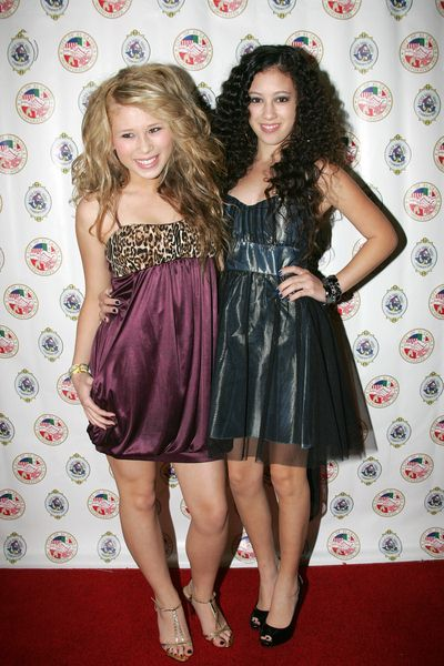 Savanna, Keana at Evening With The Stars 2008 Party to benefit the Mother Goose Parade Association and it's ongoing educational Young Ambassadors program at W Hotel in San Diego, CA, USA