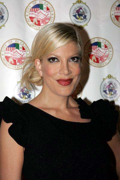 Tori Spelling at Evening With The Stars 2008 Party to benefit the Mother Goose Parade Association and it's ongoing educational Young Ambassadors program at W Hotel in San Diego, CA, USA