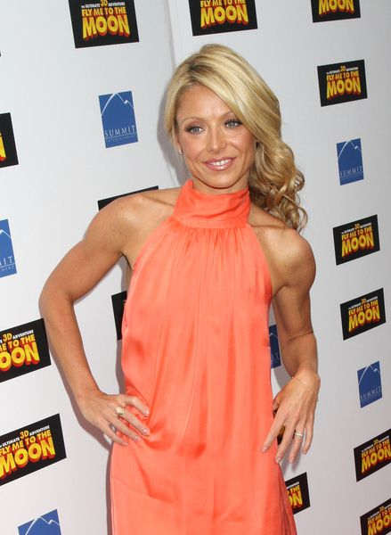 Kelly Ripa at 'Fly Me to the Moon' New York City Movie Premiere - Arrivals at Regal Union Square, New York City, NY, USA