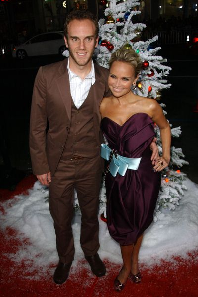 Charlie McDowell, Kristin Chenoweth at 'Four Christmases' World Premiere at Grauman's Chinese Theater, Hollywood, CA, USA