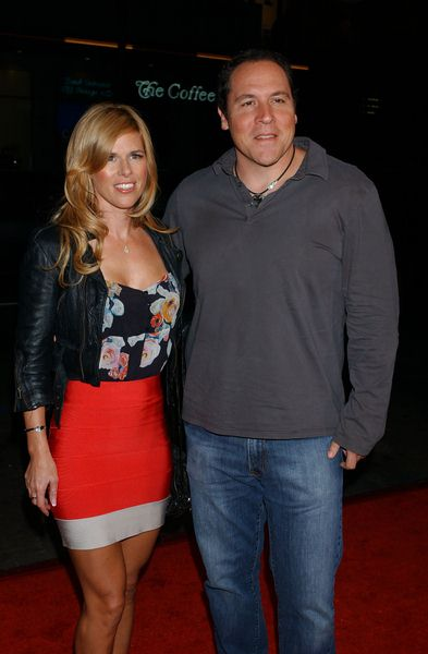 Jon Favreau, Joya (wife) at 'Four Christmases' World Premiere at Grauman's Chinese Theater, Hollywood, CA, USA