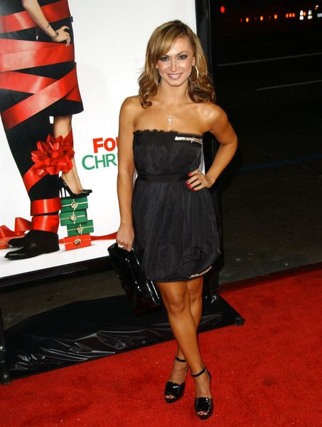 Karina Smirnoff at 'Four Christmases' World Premiere at Grauman's Chinese Theater, Hollywood, CA, USA