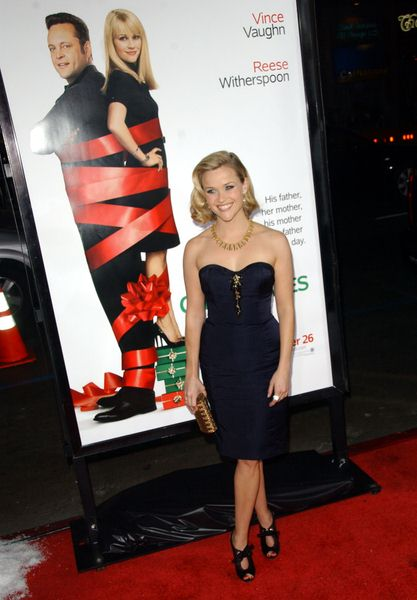 Reese Witherspoon at 'Four Christmases' World Premiere at Grauman's Chinese Theater, Hollywood, CA, USA