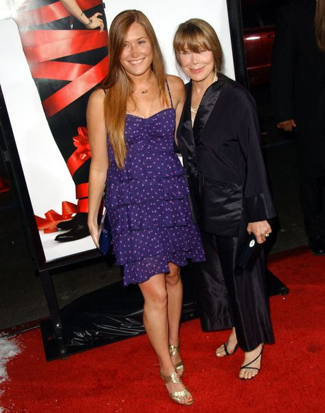 Schuyler Fisk, Sissy Spacek (mother) at 'Four Christmases' World Premiere at Grauman's Chinese Theater, Hollywood, CA, USA