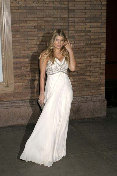 Fergie (Stacy Ann Ferguson) at Glamour Magazine Honors the 2008 Women of the Year at Carnegie Hall in New York City, NY, USA