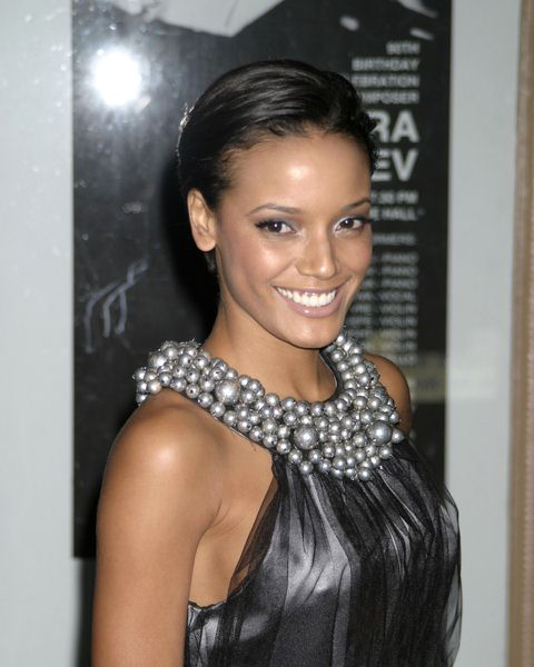 Selita Ebanks at Glamour Magazine Honors the 2008 Women of the Year at Carnegie Hall in New York City, NY, USA