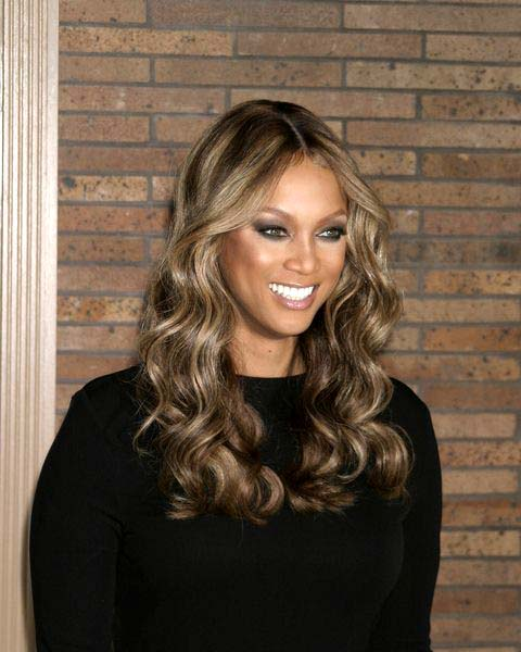 Tyra Banks at Glamour Magazine Honors the 2008 Women of the Year at Carnegie Hall in New York City, NY, USA