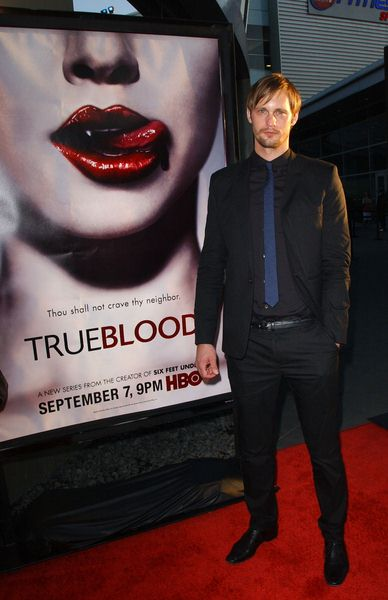 Alexander Skarsgard at HBO Series 'True Blood' Los Angeles Premiere at The Cinerama Dome, Hollywood, CA. USA