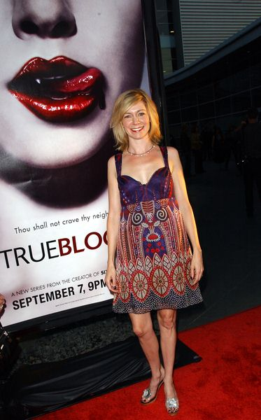 Carrie Preston at HBO Series 'True Blood' Los Angeles Premiere at The Cinerama Dome, Hollywood, CA. USA