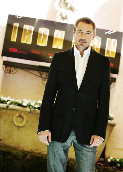 Robert Downey Jr. at 'Iron Man' Rome Photocall - Hassler Hotel, Rome, Italy