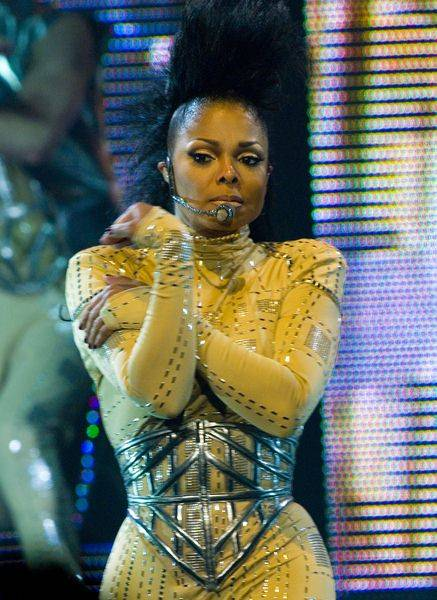 Janet Jackson at Janet Jackson 'Rock Witchu Tour 2008' Chicago at Allstate Arena, Rosemont, IL, USA