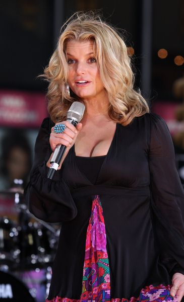 Jessica Simpson at Jessica Simpson on ABC's Good Morning America Fall Concert Series at Times Square, New York City, NY, USA