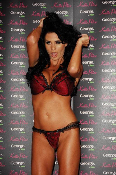Katie Price at Katie Price Promotes Her New Range of Underwear for George at ASDA at the Lakeside Retail Park, Thurrock, London, UK