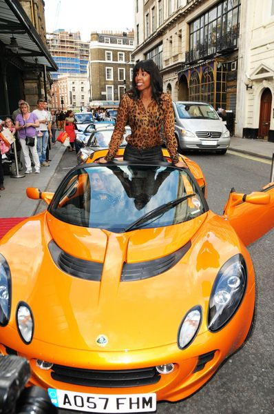 Kelly Rowland at Kelly Rowland Launches the New Lotus Elise at the Transport Museum in London, England
