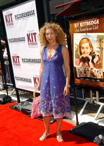 Alex Kingston at 'Kit Kittredge: An American Girl' World Premiere at The Grove, Los Angeles, CA. USA