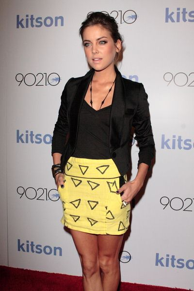 Jessica Stroup at Kitson's 90210 Collection - Arrivals at Kitson Studio, West Hollywood, CA, USA
