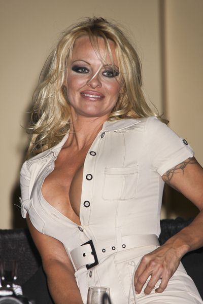 Pamela Anderson at Kruse International's 35th Annual Las Vegas Fall Collector Car Auction - Arrivals at South Point Hotel and Casino, Las Vegas, NV, USA