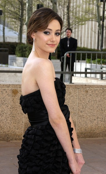 Emmy Rossum at 'La Fille Du Regiment' Opening Night - Arrivals - Metropolitan Opera House, New York City, NY, USA