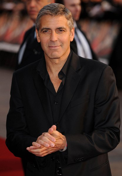 George Clooney at 'Leatherheads' London Premiere - Arrivals - Odeon Leicester Square. London, England.