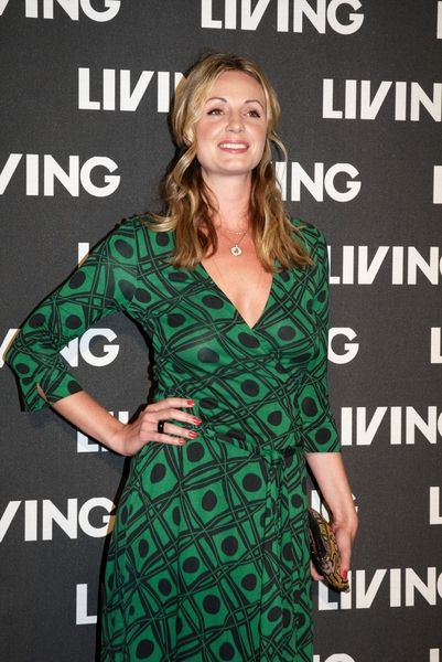 Elize du Toit at Living Magazine's 15th Birthday Party at Covent Garden, London, UK