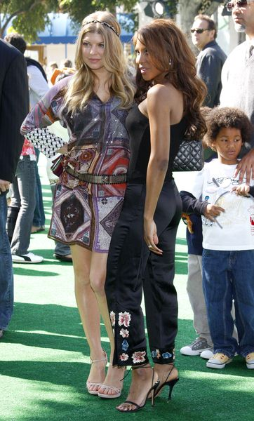 Fergie, Toni Braxton at 'Madagascar: Escape 2 Africa' Los Angeles Premiere at Mann Village Theatre, Westwood, CA USA