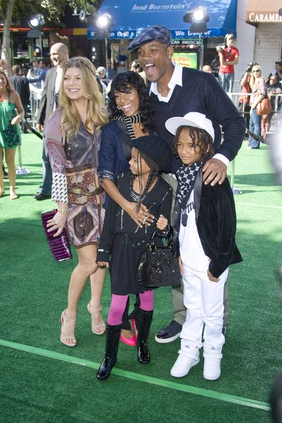 Fergie, Will Smith, Jada Pinkett-Smith at 'Madagascar: Escape 2 Africa' Los Angeles Premiere at Mann Village Theatre, Westwood, CA USA