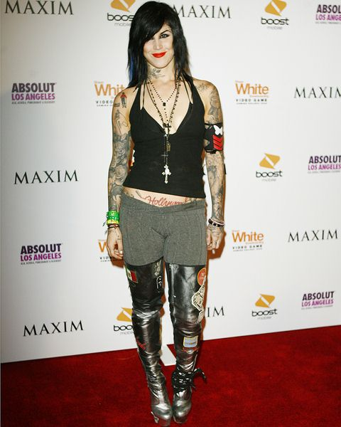 Kat Von Dee at 'Maxim Celebrates the Biggest Event in Extreme Sports' X Games Party - Arrivals at The Stork, Los Angeles, CA, USA