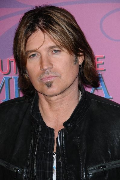 Billy Ray Cyrus at Miley Cyrus 'Sweet 16' Celebration at Disneyland, Anaheim, CA, USA