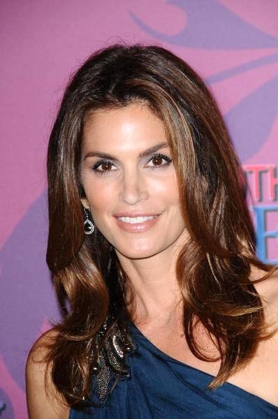 Cindy Crawford at Miley Cyrus 'Sweet 16' Celebration at Disneyland, Anaheim, CA, USA