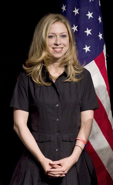 Chelsea Clinton at Mother's Day Celebration with Chelsea and Hillary Clinton at the Sheraton Hotel in New York on May 10, 2008 - Sheraton Hotel, New York City, NY, USA