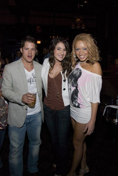 David Malinosky, Sarah Ralston, Brianna Taylor at MTV's Real World XX: Hollywood Premier Party at Excalibur Night Club - April 11, 2008 - Excalibur Nightclub, Chicago, IL, USA