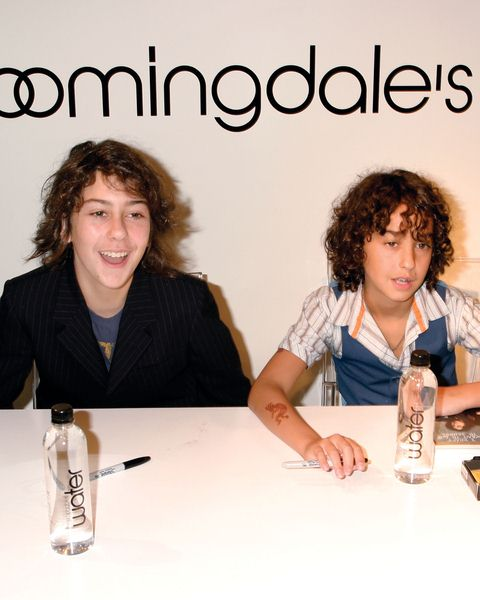 Nat Wolff, Alex Wolff (Naked Brothers Band) at Naked Brothers Band Autograph Signing to Promote Their New Album 'I Don't Want to Go to School' at Bloomingdales 59th Street Store - B-Kids Department, New York City, NY, USA