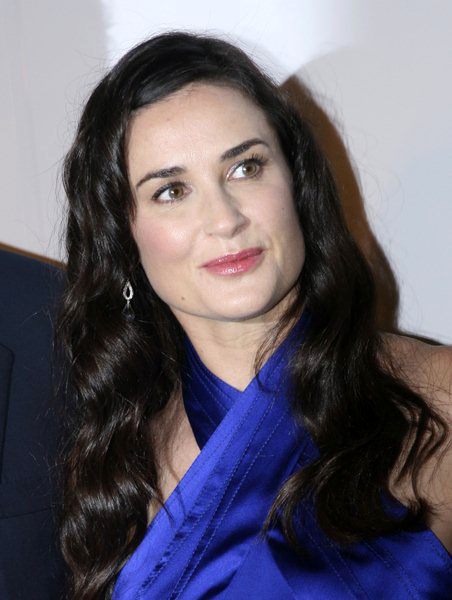 Demi Moore at Nakheel Launches Trump International Hotel and Tower Dubai at The Park Avenue Plaza, New York City, NY, USA