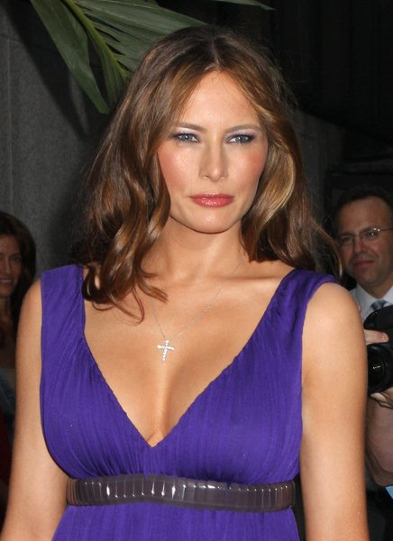 Melania Trump at Nakheel Launches Trump International Hotel and Tower Dubai at The Park Avenue Plaza, New York City, NY, USA