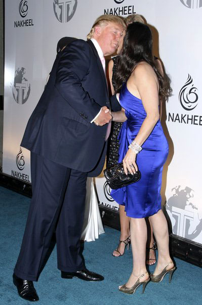 Donald Trump, Demi Moore at Nakheel Launches Trump International Hotel and Tower Dubai at The Park Avenue Plaza, New York City, NY, USA