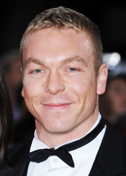 Chris Hoy at National Movie Awards 2008 in Royal Festival Hall, London, England