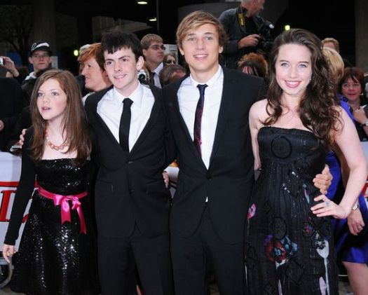 Chronicals of Narnia cast at National Movie Awards 2008 in Royal Festival Hall, London, England