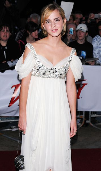 Emma Watson at National Movie Awards 2008 in Royal Festival Hall, London, England