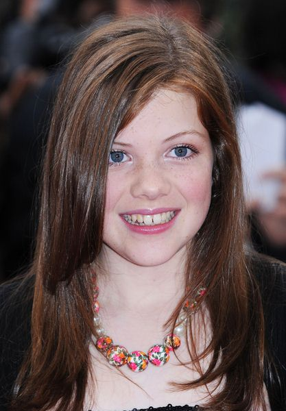 Georgie Henley at National Movie Awards 2008 in Royal Festival Hall, London, England