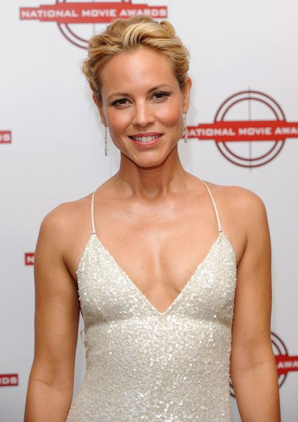 Maria Bello at National Movie Awards 2008 in Royal Festival Hall, London, England
