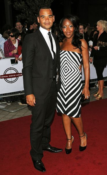 Micheal Underwood, Anjelica Bell at National Movie Awards 2008 in Royal Festival Hall, London, England