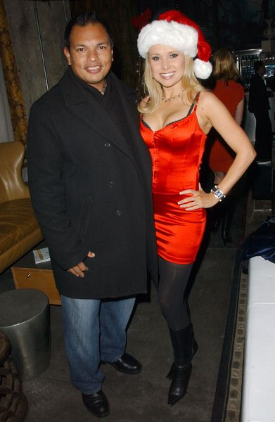 Michael Passage, Alana Curry at Naughty But Nice Holiday Celebration - SBar, Hollywood, CA. USA