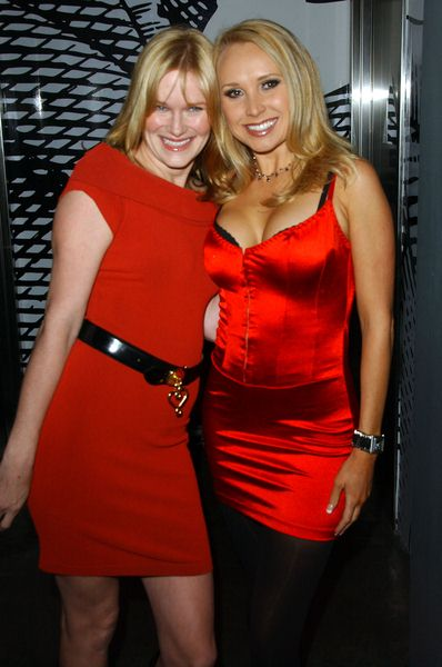 Nicholle Tom, Alana Curry at Naughty But Nice Holiday Celebration - SBar, Hollywood, CA. USA