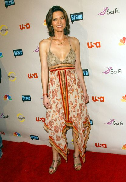 Alana De La Garza at 2008 NBC/ USA/ Sci-Fi/ Bravo/ Oxygen Summer TCA Party - Arrivals at The Beverly Hilton Hotel, Beverly Hills, CA. USA