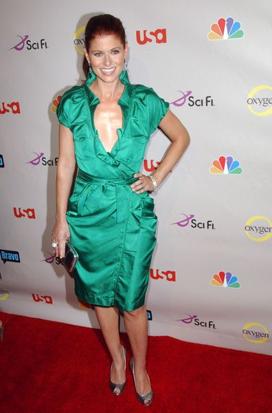 Debra Messing at 2008 NBC/ USA/ Sci-Fi/ Bravo/ Oxygen Summer TCA Party - Arrivals at The Beverly Hilton Hotel, Beverly Hills, CA. USA