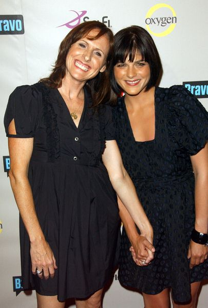 Molly Shannon, Selma Blair at 2008 NBC/ USA/ Sci-Fi/ Bravo/ Oxygen Summer TCA Party - Arrivals at The Beverly Hilton Hotel, Beverly Hills, CA. USA