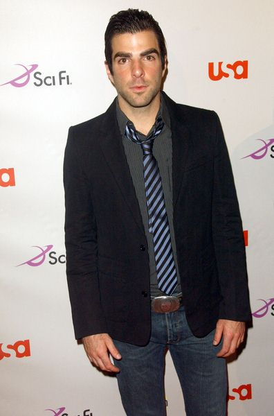 Zachary Quinto at 2008 NBC/ USA/ Sci-Fi/ Bravo/ Oxygen Summer TCA Party - Arrivals at The Beverly Hilton Hotel, Beverly Hills, CA. USA