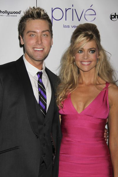 Lance Bass ('N Sync), Denise Richards at New Year's Eve Celebration Hosted by Denise Richards and Lance Bass at Prive Nightclub at Planet Hollywood Hotel and Casino, Las Vegas, NV, USA
