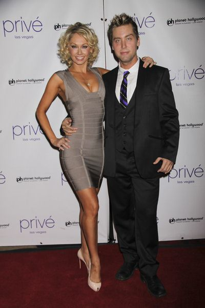 Kym Johnson, Lance Bass at New Year's Eve Celebration Hosted by Denise Richards and Lance Bass at Prive Nightclub at Planet Hollywood Hotel and Casino, Las Vegas, NV, USA