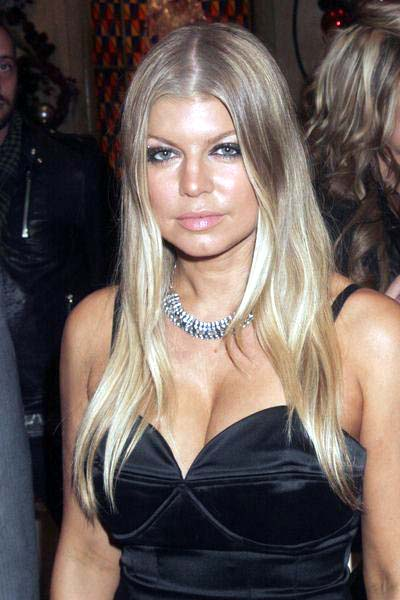 Fergie at New Year's Eve Celebration Hosted by Fergie and Carmen Electra at  Lavo Nightclub at the Palazzo Hotel and Casino, Las Vegas, NV, USA